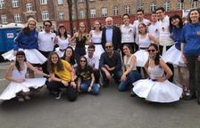 El grupo de sardanas Nova Tarragona Dansa actúa en Copenhague