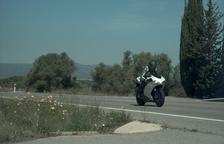 Detienen a un motorista que circulaba a 195 km/h en un tramo limitado a 90 en Tivissa
