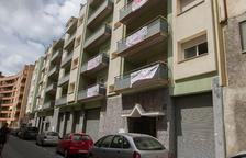 El banc posa a la venda pisos que van acollir ocupes a Joan Coromines