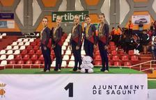 El Infantil y el Junior del Club Gimnàstica Estètica Constantí se proclaman campeones de España