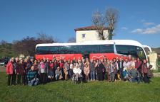 Un grupo de creixellencs visita las ciudades hermanadas de Vorey sur Arzon y Saint Vincent