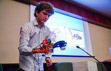 Álvaro Domingo guanya el Premi del Col·legi d'Enginyers Industrials