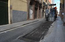 Reus inverteix 350.000 euros en l'asfaltat dels seus carrers