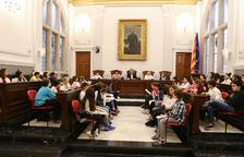 El Consell Municipal d'Infants presenta les propostes sobre els drets de la infància