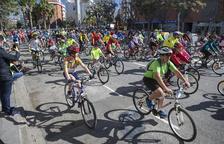 La Bicicletada popular de Tarragona sorteará bicicletas y maillots entre los inscritos