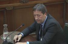 El director del gabinet jurídic defensa que Turull li va ordenar facilitar l'actuació policial i atendre requeriments