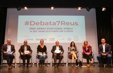 El Hospital, la piscina cubierta, el CEPID 2 y las patrullas a pie centran el debate de candidatos en Reus