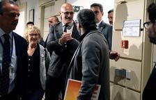 Romeva llega al Senado des de la prisión de Soto del Real.