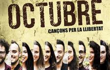 S'ajorna l'espectacle 'Octubre, cançons per la llibertat' a la Sala Santa Llúcia de Reus