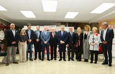 Jordi Just relleva Isaac Sanromà com a president de la Cambra de Reus