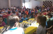 Durant la jornada s'han realitzat tres rondes consecutives d'escacs.