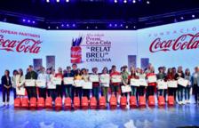 Coca-Cola premia, en un acte a Port Aventura, als millors relats breus de Catalunya