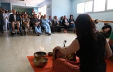 El projecte Art Teràpia apropa els gongs i la música electrònica als pacients de l'hospital Verge de la Cinta de Tortosa
