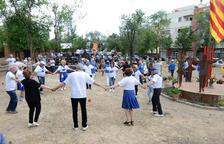 Prop de 300 persones participen en l'XI Aplec de Sardanes Vila del Morell
