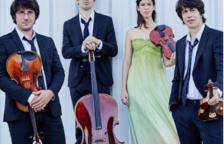 El Quartet Gerhard, en concert aquest divendres a l'Auditori Josep Carreras