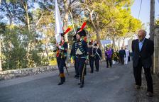 Homenatge als defensors del Fort de l'Oliva en la Guerra del Francès