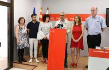 El PSC diu «sí» a un pacte amb ERC i CUP i vol compartir alcaldia amb Llauradó