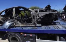 El cotxe amb el qual es va accidentar Reyes anava a 237 km/h