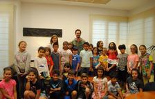 Alumnes de tercer de Primària de l'Escola Cal·lípolis visiten l'Ajuntament de Vila-seca