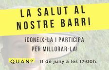 Jornada de participación 'La salut al nostre barri' en Horts de Miró