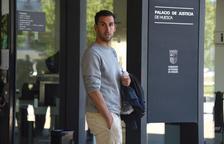 La Federació demana que Íñigo López no jugui la promoció aquesta nit