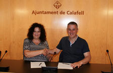 El PSC i En Comú-Podem tanquen un acord de governabilitat a l'Ajuntament de Calafell