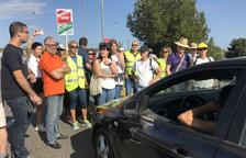 Interior limita la protesta de la rotonda de Torredembarra