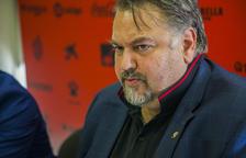 Clifton Onolfo, durante una rueda de prensa en las instalaciones del Estadi Municipal de Reus.