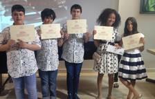 Quatre alumnes de l'Escola de Música de Cambrils guardonats en un concurs de piano