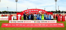Celta, Málaga i Athletic Club són els vencedors de la II Lliga Genuine