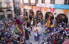 Los Neolítics de l'Espluga, por primera vez en la Mostra de Gegants de Valls