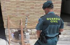 Denunciados dos vecinos de Campclar por capturar jilgueros en Santa Bàrbara