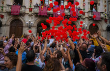 Música, Castells y fuego a los actos de Sant Joan de Valls