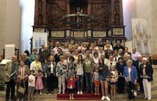 L'orgue de Valls ja compta amb més de 300 tubs apadrinats