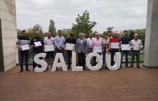 Entrega de premios de las primeras Jornadas Gastronómicas del Arroz de Salou