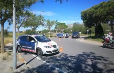 Imagen de archivo de un control de carretera de los Mossos D'Esquadra.