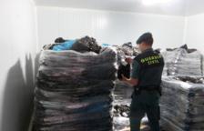 Detecten 11.300 quilos de musclos grecs que els feien passar per ebrencs