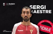 Sergi Maestre, que interessava al Nàstic, es compromet amb el Badajoz