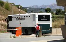 Arriben a Brians els independentistes presos procedents de Zuera