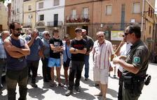 Ordenen l'aixecament del confinament de Bovera i Maials a l'incendi de la Ribera d'Ebre