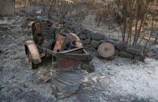 El Govern buscarà fórmules per ajudar els afectats per l'incendi de la Ribera d'Ebre però no preveu partides específiques