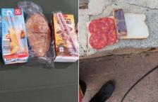 Es viralitza un missatge sobre el menjar que van rebre els militars de la UME a l'incendi de la Ribera d'Ebre