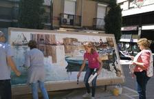 Exposición de murales en el Castell del Cambrer