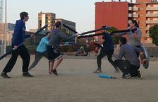 El 'jugger', una forma alternativa de fer esport i salut