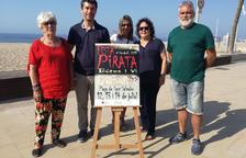Imagen de la presentación de la Festa Pirata de Sant Salvador.
