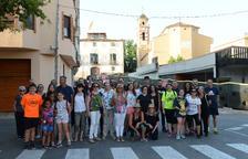La Fiesta de la Granja del Morell reúne a más de 200 personas en la cena a la fresca