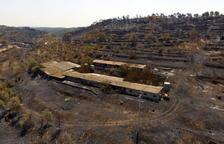 Interior agraeix la col·laboració del territori i de molts punts de l'Estat per extingir l'incendi de la Ribera d'Ebre