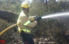 Els Bombers donen per extingit l'incendi d'aquest tarda a Móra d'Ebre
