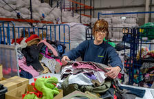 Humana recupera más de 4 toneladas de textil usado en la Bisbal del Penedès