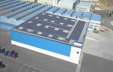 Schwartz Hautmont estalviarà un 35 de la seva factura elèctrica instal·lant plaques solars
